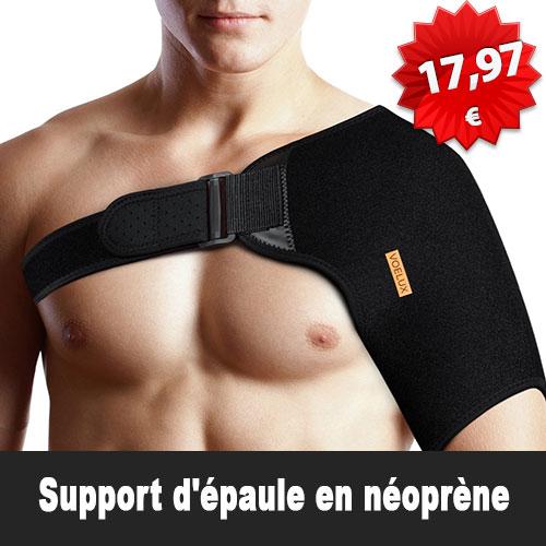 Support d'épaule en néoprène